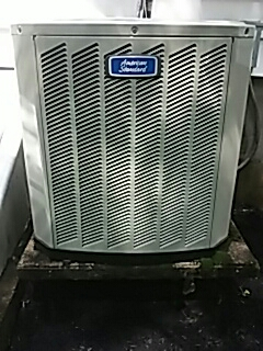 Framingham, MA - Clean and check American Standard AC unit