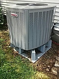 Oxford, MA - Clean and check Lennox AC system