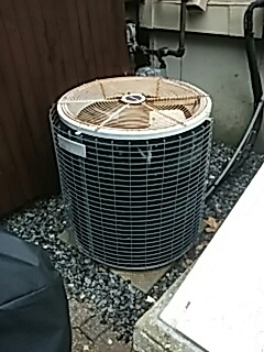 Ayer, MA - Clean and check Amana AC unit