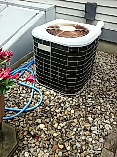 Harvard, MA - Clean and check Amana AC system