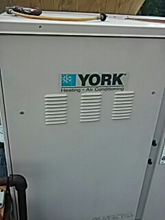 Lunenburg, MA - AC repair on a York rooftop unit