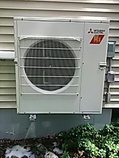 Webster, MA - Clean and check Mitsubishi mini split systems