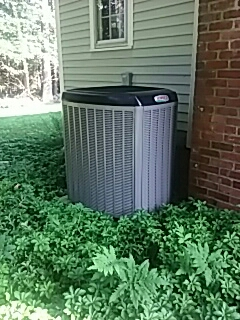 Acton, MA - Clean and check Lennox AC system