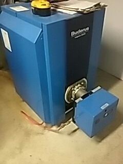 Fitchburg, MA - Repair on a Buderus oil heating system