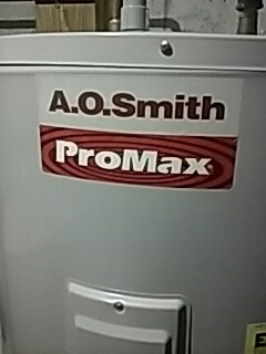 Shrewsbury, MA - Fixing water leak on AO Smith elec. Water heater