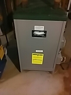 Southborough, MA - Leak repair on a Peerless gas boiler