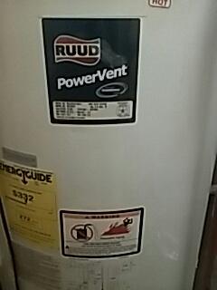 Shrewsbury, MA - No hot water repair on a Ruun gas water heater