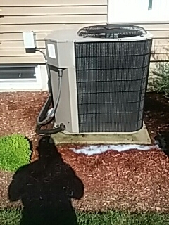 Lunenburg, MA - Clean and check York AC system