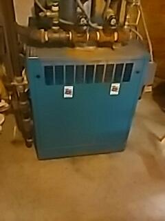 Hudson, MA - Clean and check Burnham gas boiler