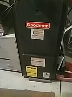West Boylston, MA - Clean and check Goodman gas furnace