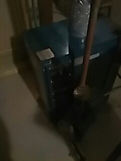 Northborough, MA - Clean and check HB Smith gas boiler
