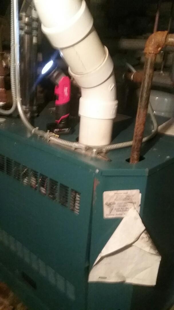 Shirley, MA - Maintenance Burnham gas boiler