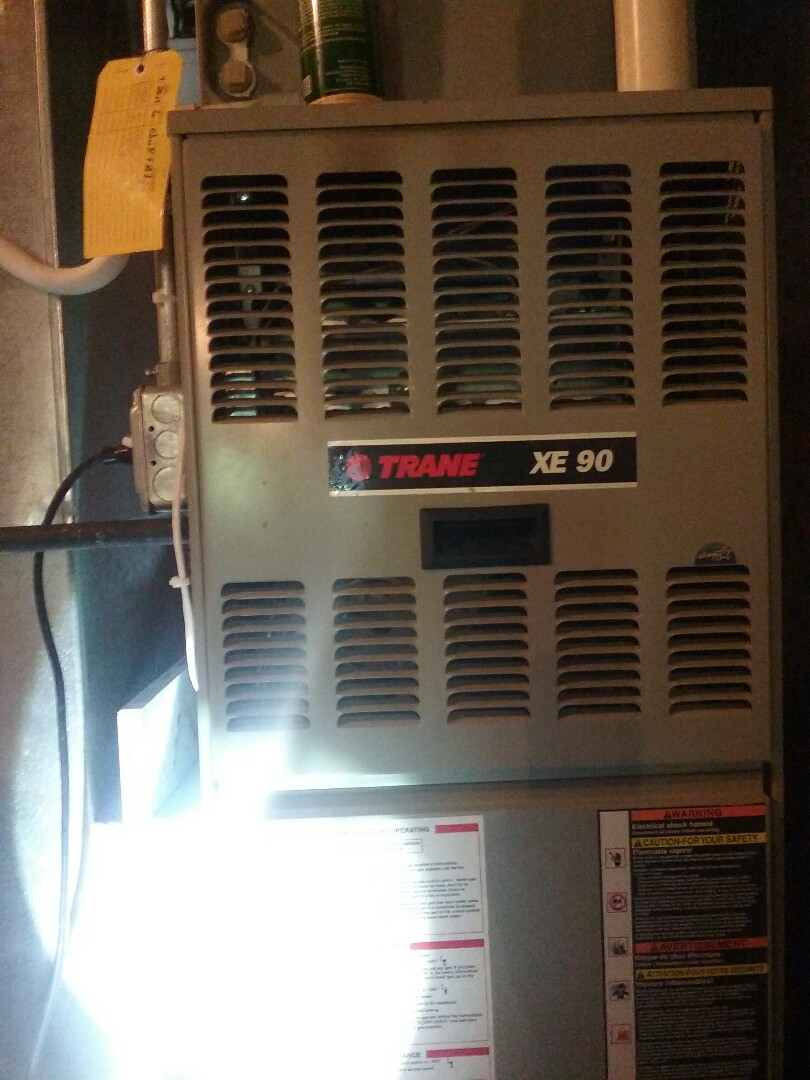 Southborough, MA - Maintenance of a Trane xe90 gas Furnace