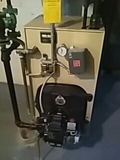 Auburn, MA - Clean and check Weil Mclain oil fired boiler