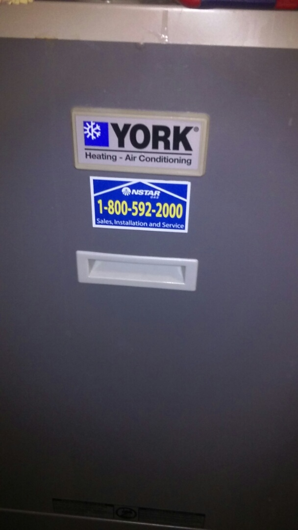 Ashland, MA - Clean and check York gas furnace