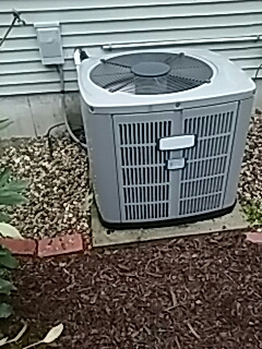 Winchendon, MA - A/C repair on a American Standard unit