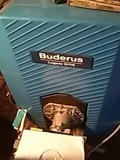 Fitchburg, MA - Heat repair on a Buderus gas boiler