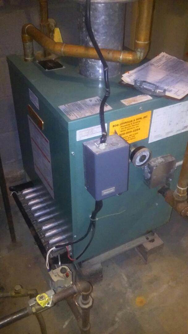 Shrewsbury, MA - Clean and check Peerless gas boiler