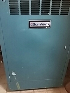 Lancaster, MA - Clean and check Burnham gas boiler