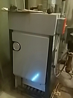 Shrewsbury, MA - Heat repair on a Slant Fin gas boiler