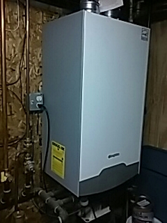 Northborough, MA - Heat repair on Triangle tube gas boiler
