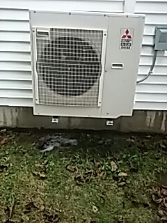 Gardner, MA - Clean and check Mitsubishi mini split systems