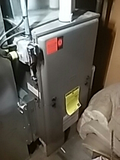 Harvard, MA - Heat repair on a York gas furnace