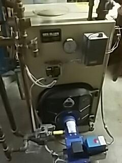 Shrewsbury, MA - Clean and check Weil Mclain conversion gas boiler
