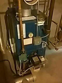 Rutland, MA - Clean and check Dunkirk oil fired boiler