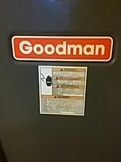 Clinton, MA - Heat repair on a Goodman gas furnace