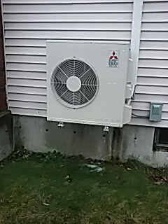 Leominster, MA - Clean and check Mitsubishi mini split system