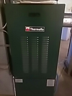 Framingham, MA - Clean and check Thermoflo oil fired furnace