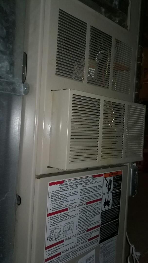 Grafton, MA - Maintenance of a Lennox whisper heat gas furnace