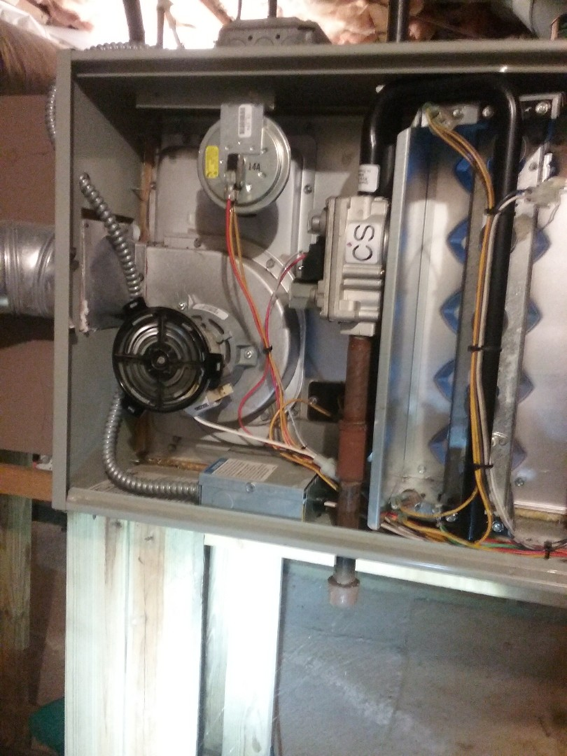 Hudson, MA - Maintenance of an American Standard gas furnace