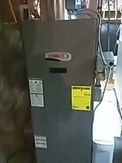 Ayer, MA - Clean and check Lennox oil fired furnace