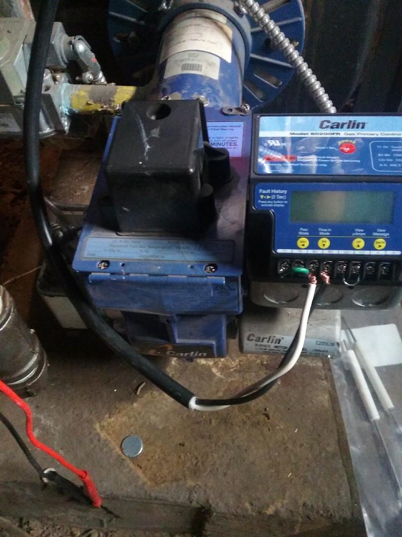 Worcester, MA - Service of a Carlin ez-gas conversion burner