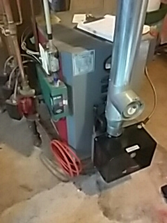 Harvard, MA - Clean and check PurePro oil fired boiler
