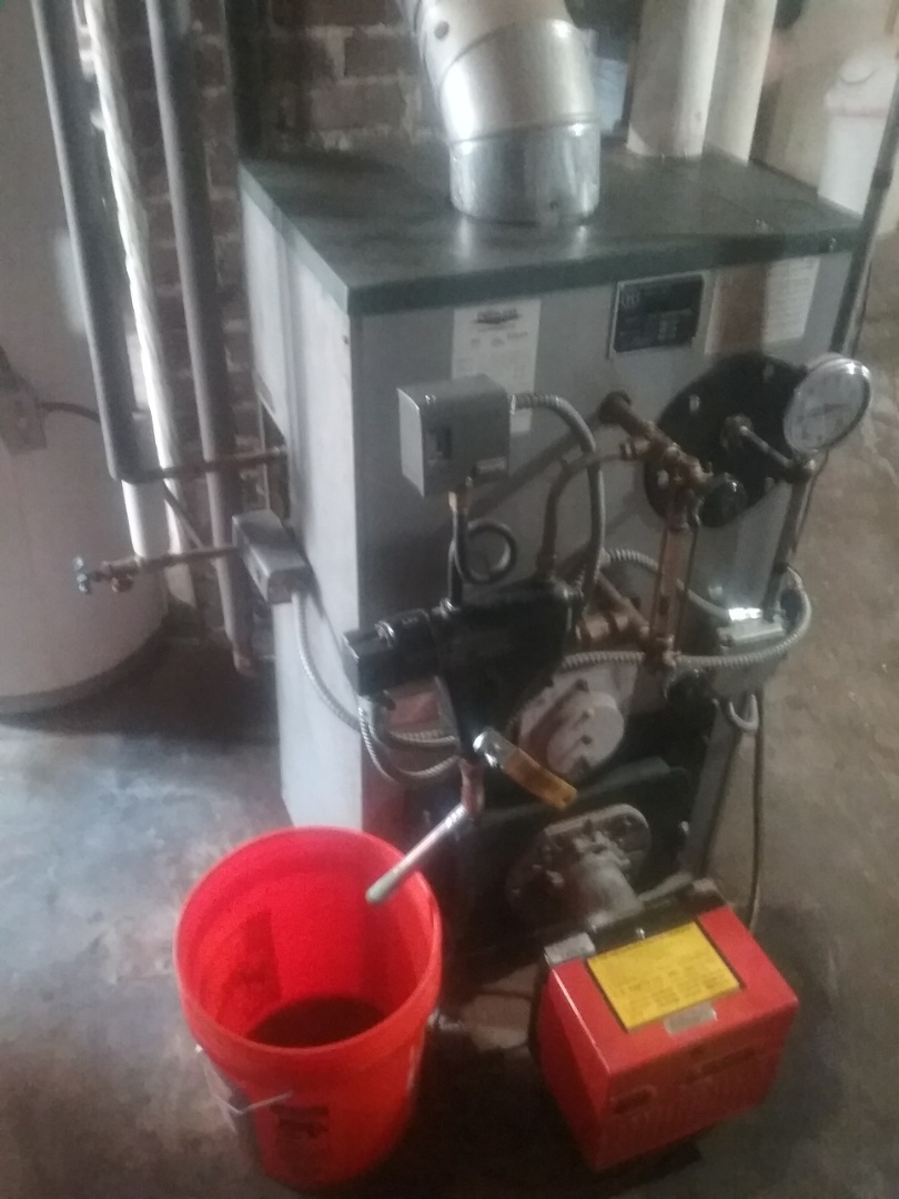 Worcester, MA - Service of a peerless oil boiler