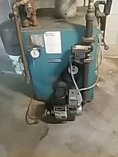 Northborough, MA - Clean and check Burnham oil fired boiler