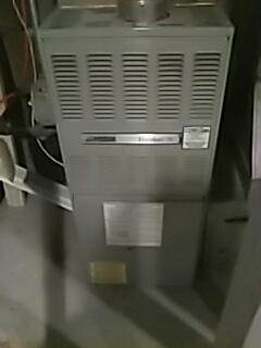 Auburn, MA - Heat repair on American standard gas furnace