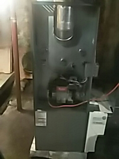 Oxford, MA - Clean and check Lennox oil fired furnace
