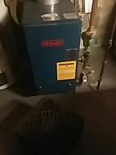Shrewsbury, MA - Heat repair on a HB Smith gas boiler