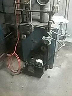 Princeton, MA - Clean and check Burnham oil fired boiler