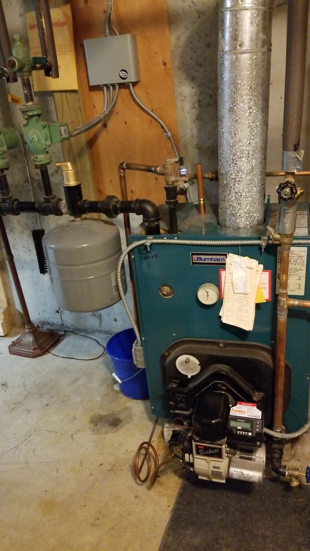 Sterling, MA - Service burnham  oil  watet boiler