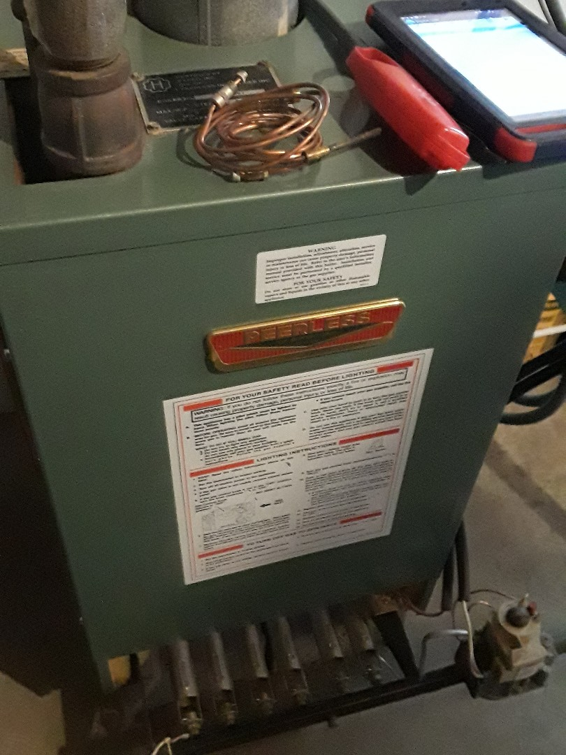 Holden, MA - Clean and Check Peerless gas boiler
