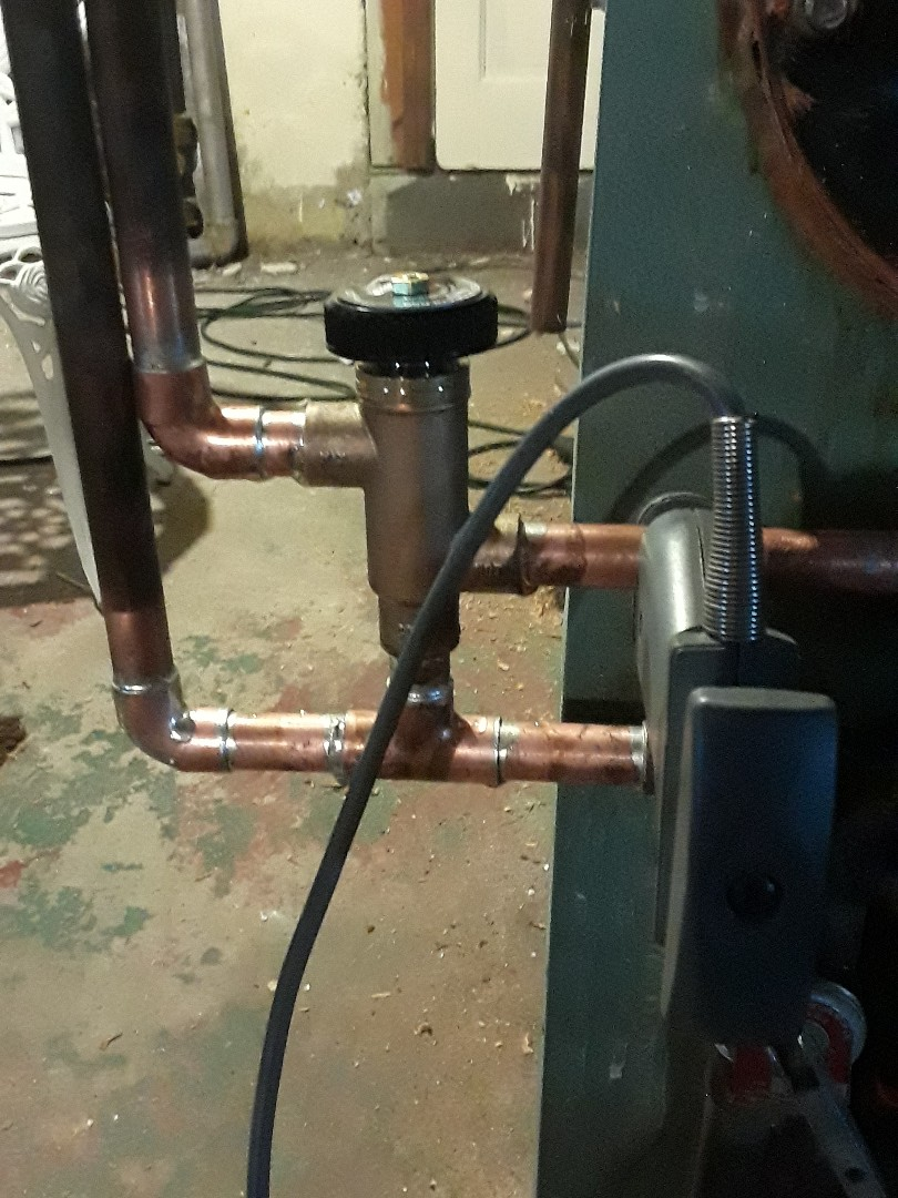 Fitchburg, MA - Replacing Watts hot water tempering valve