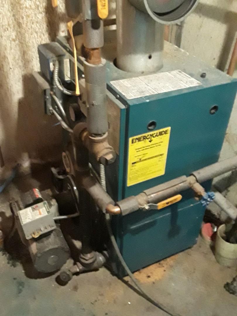 Southborough, MA - Heat repair on Burnham oil fired boiler