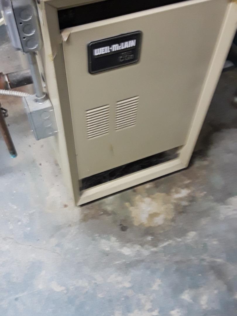 Hudson, MA - Heat repair on Weil Mclain gas boiler