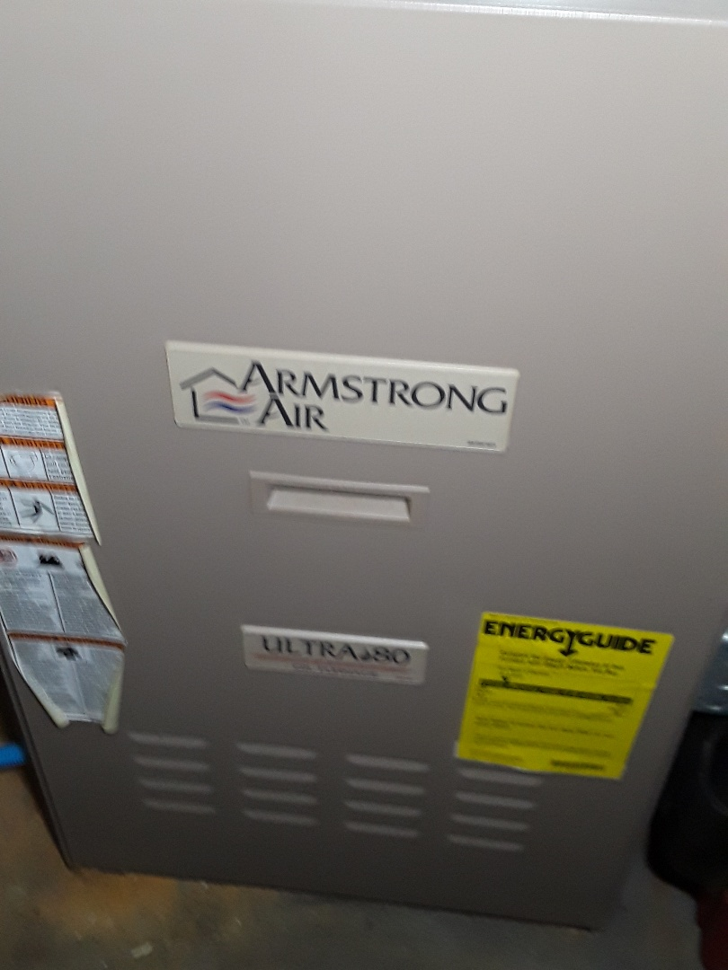 Framingham, MA - Clean and check Armstrong Air oil Furnace