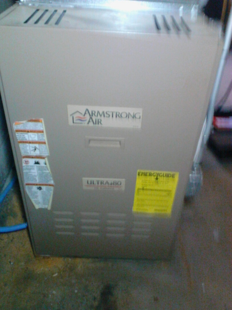 Framingham, MA - Cleaning and checking an Armstrong Pivotal LP DLL TR. oil fired furnace